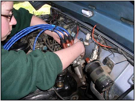 Engine Tune Up Cap Rotor Distributor Repair Maintenance